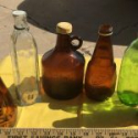 Set of Old Bottles (6)
